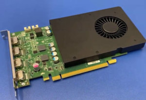 Matrox released a D1450 graphics card based on the Nvidia GPU.