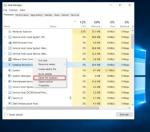 What is dwm.exe process and how dwm.exe works in Windows 10