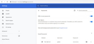How to delete saved Passwords on Chrome, Firefox