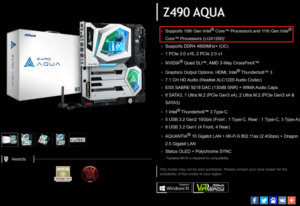 Biostar and ASRock announced support for 11th generation Intel Core chips on current LGA1200 boards