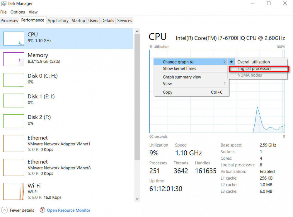 How to enable all processor cores in Windows 10
