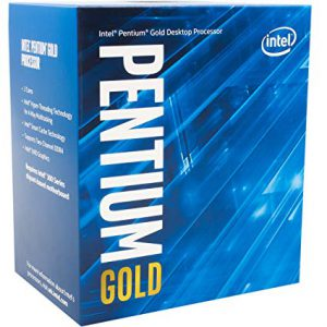 Overview of the Intel Pentium Gold G5400 processor. Not all is gold.